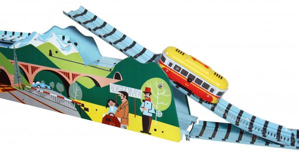 Blechspielzeug Bergbahn