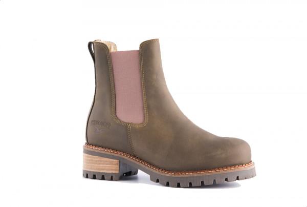 Ducklander Boots Olive / Beige