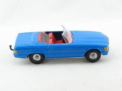 Blechspielzeug Mercedes Cabrio Blau