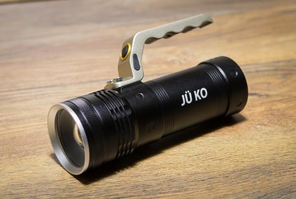 LED-Akku Taschenlampe