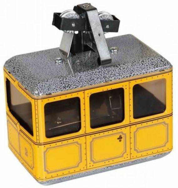 Blechspielzeug Seilbahn Gelb