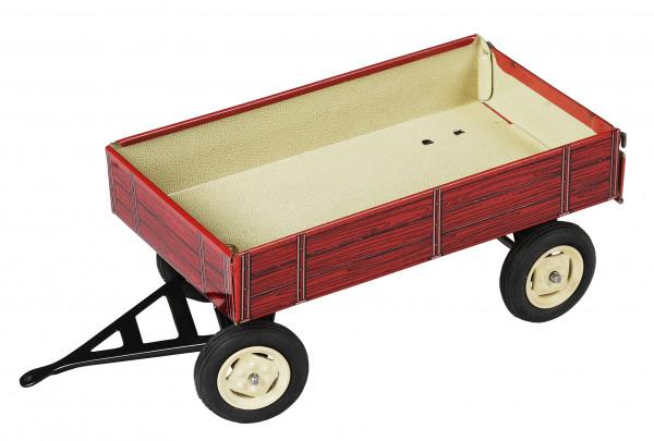 Blechspielzeug Kovap Anhänger Rot
