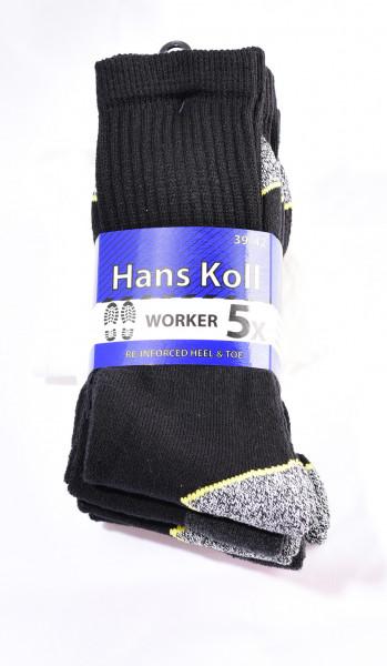 Herren Arbeitssocken - 5er Pack