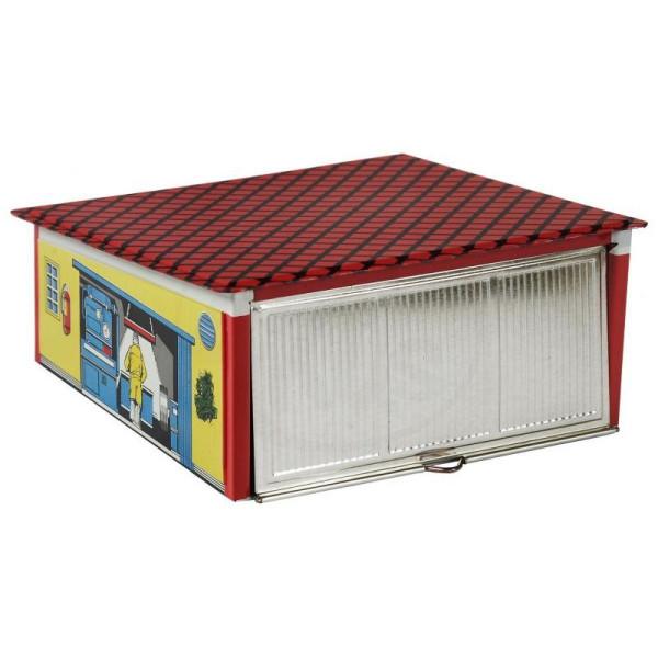 Blechspielzeug Garage