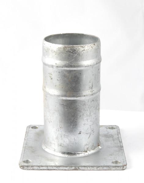 """Flansch Übergangsstück 4"""" x 200 mm 150 x 150 mm"""